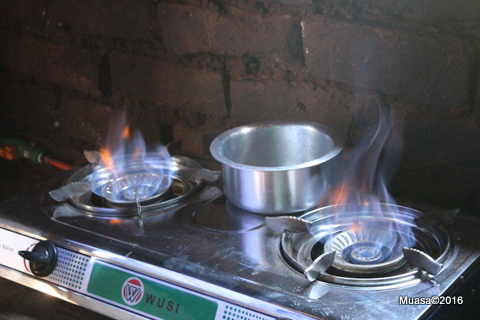 I have bought  new  pans for the biogas